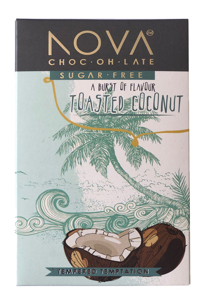 Nova Chocolate - Toasted Coconut