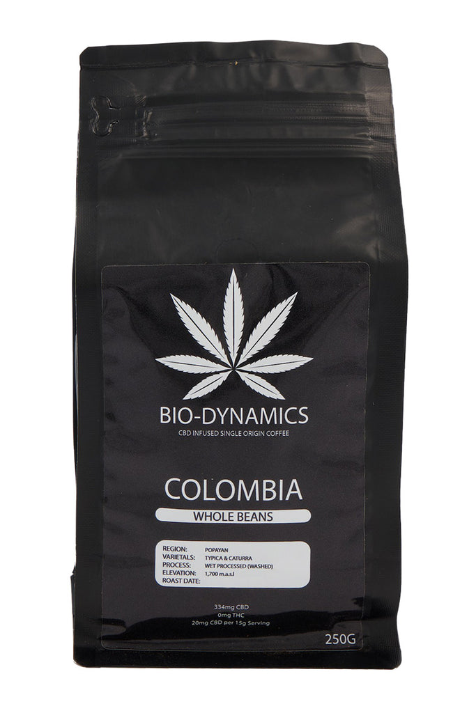Scorpio Coffee - Colombia CBD Infused