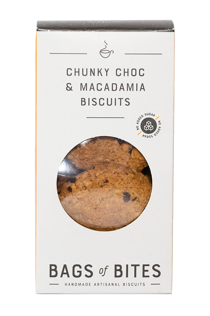Bags of Bites - NAS Chunky Choc & Macadamia Nut Biscuit