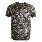 Sitka Elevated II Core Lightweight Crew Short Sleeve Shirt | Shirt | Sitka - Oasis Outback