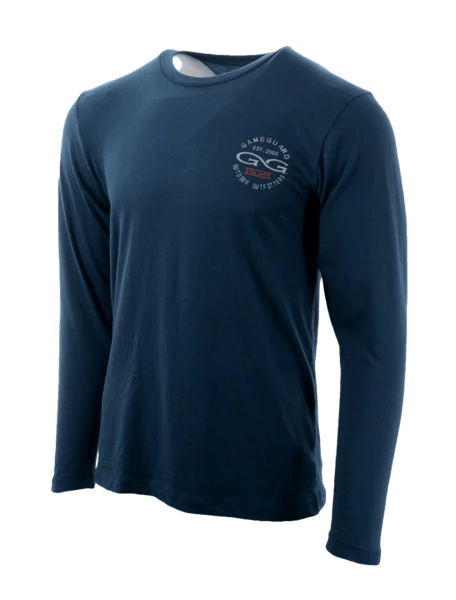 Men's GameGuard Deep Water Long Sleeve Graphic Tee | Shirt | GameGuard - Oasis Outback