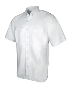 Men's GameGuard White Microfiber Shirt | Shirt | GameGuard - Oasis Outback