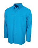 Men's GameGuard Atlantic Long Sleeve Microfiber Shirt | Shirt | GameGuard - Oasis Outback