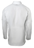 Men's GameGuard White Long Sleeve Microfiber Shirt | Shirt | GameGuard - Oasis Outback