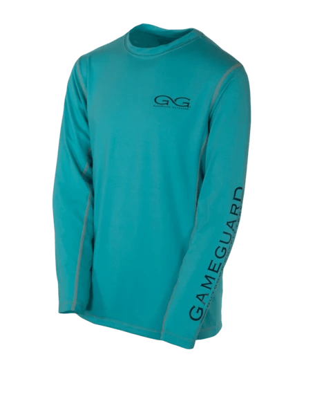 Youth GameGuard Branded Caribbean Long Sleeve Performance Tee | Shirt | GameGuard - Oasis Outback