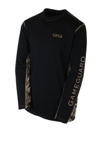 Youth GameGuard Branded Caviar Long Sleeve Performance Tee | Shirt | GameGuard - Oasis Outback