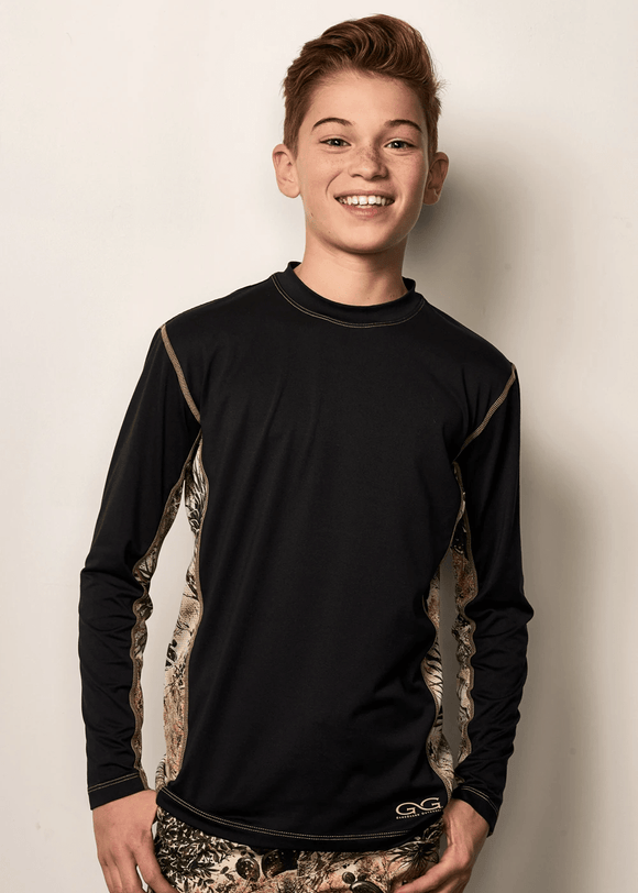 Youth GameGuard Caviar Long Sleeve Performance Tee | Shirt | GameGuard - Oasis Outback