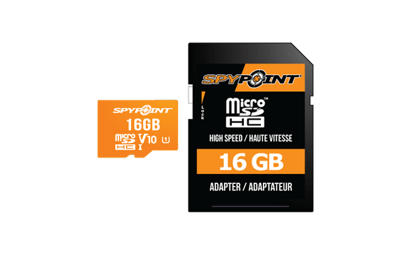 SpyPoint MicroSD 16GB Card - Oasis Outback
