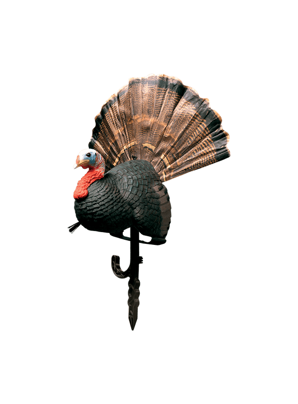 PRIMOS 'Chicken On a Stick' Fanning Jake Decoy | Turkey Decoy | PRIMOS Hunting - Oasis Outback