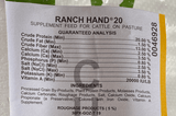 "Purina Ranch Hand Breeder 20% 7/8"" Cubes 50# 