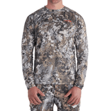 Sitka Elevated II Core Lightweight Crew Long Sleeve Shirt | Shirt | Sitka - Oasis Outback