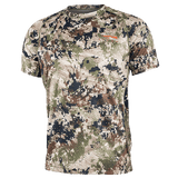 Sitka SubAlpine Core Lightweight Crew Short Sleeve Shirt | Shirt | Sitka - Oasis Outback