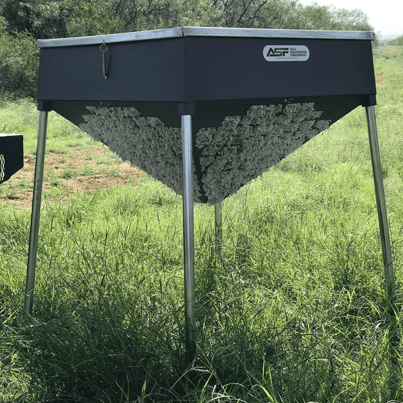 500lb Cottonseed Feeder by All Season Feeders | Feeder | All Season Feeders - Oasis Outback