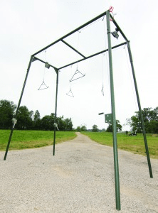 4 Station Game Rack with Lights by Outback Wildlife Feeders | Ranch Management | Outback Wildlife Feeders - Oasis Outback