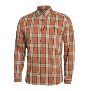 Sitka Canyon Plaid Globetrotter  Long Sleave Shirt | Shirt | Sitka - Oasis Outback