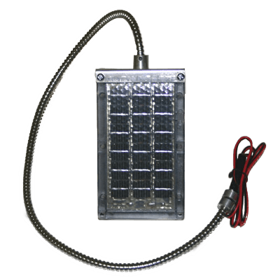 6V Solar Panel with Cable Bracket - Oasis Outback