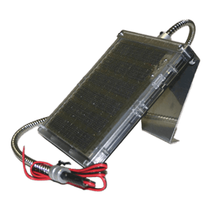 12V Solar Panel with Cable Bracket - Oasis Outback