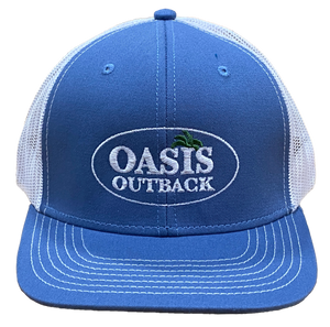 Oasis Outback Slate GG Meshback Cap | Cap | Oasis Outback - Oasis Outback