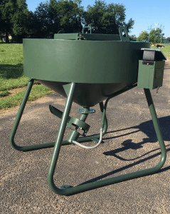 600lb Baby Back Corn Feeder with Pistolero by Outback Wildlife Feeders | Feeder | Outback Wildlife Feeders - Oasis Outback