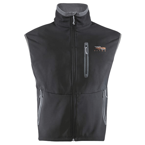 Sitka Black Jetstream Vest - Oasis Outback
