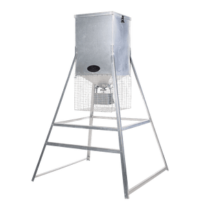 600lb Econo Corn Feeder by Lamco Feeders | Feeder | Lamco Feeders - Oasis Outback