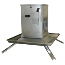 800lb Timed Trough Protein Feeder by Lamco | Feeder | Lamco Feeders - Oasis Outback