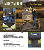 1000lb Mighty Midget Corn Feeder by MB Ranch King | Feeder | MB Ranch King - Oasis Outback
