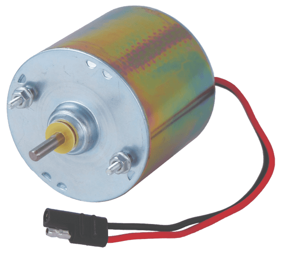 Silver 12 Volt Motor 1/4 in. Shaft - Oasis Outback