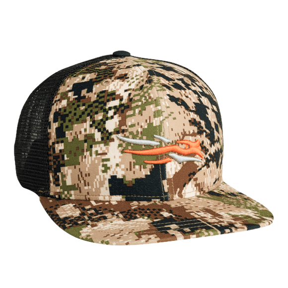 Sitka SubAlpine Trucker Hat | Hat | Sitka - Oasis Outback