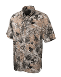 Men's GameGuard Camo Micro-Fiber Short Sleeve Shirt | Shirt | GameGuard - Oasis Outback
