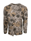 Men's GameGuard Camo Cotton Long Sleeve T-Shirt | Shirt | GameGuard - Oasis Outback