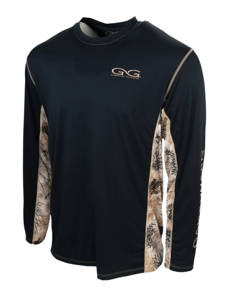 Men's GameGuard Camo Branded Caviar Long Sleeve Shirt | Shirt | GameGuard - Oasis Outback