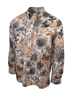 Men's GameGuard Camo Micro Fiber Long Sleeve Shirt | Shirt | GameGuard - Oasis Outback