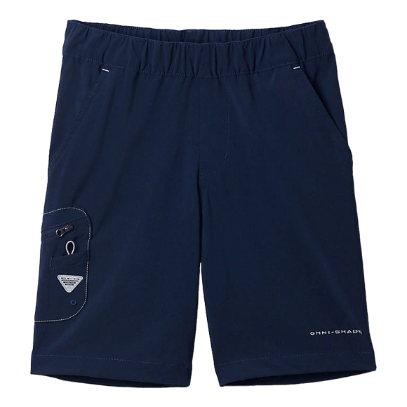 Columbia Boys' PFG Collegiate Navy Terminal Tackle Short | Shorts | Columbia - Oasis Outback