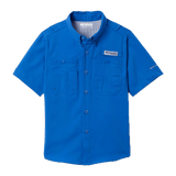 Columbia Boys' Dark Pool PFG Tamiami Short Sleeve Shirt | Shirt | Columbia - Oasis Outback