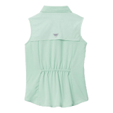 Columbia Girls' PFG New Mint Tamiami Sleeveless Shirt | Shirt | Columbia - Oasis Outback