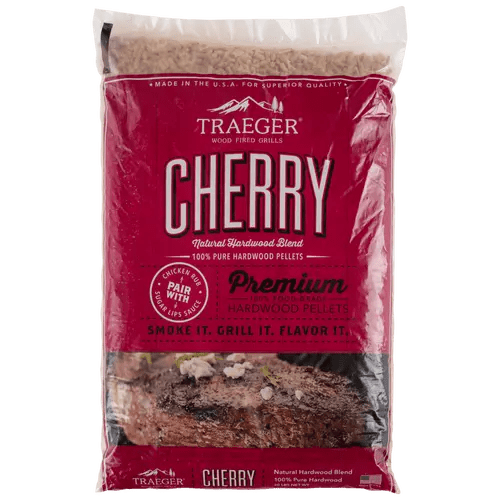 Traeger Cherry BBQ Wood Pellets | Grill Accessories | Traeger - Oasis Outback