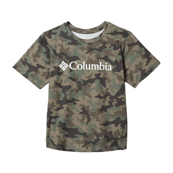 Columbia Boy's Cypress Freezer Graphic Tee | Shirt | Columbia - Oasis Outback