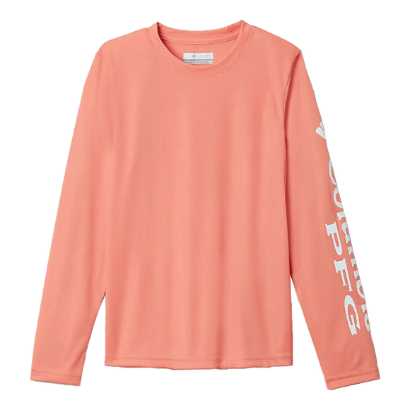 Columbia Boy's Lychee Terminal Tackle Long Sleeve | Shirt | Columbia - Oasis Outback