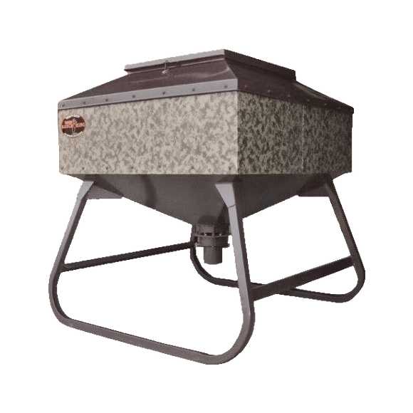1000lb Mighty Buck Corn and Protein Feeder by MB Ranch King | Feeder | MB Ranch King - Oasis Outback