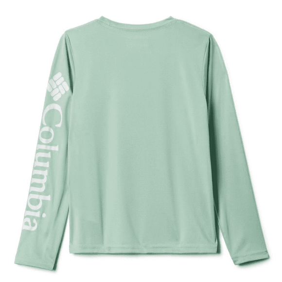 Columbia Boy's Mint Terminal Tackle Long Sleeve | Shirt | Columbia - Oasis Outback