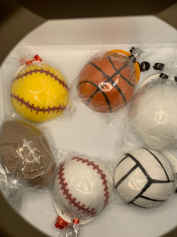 Sports Bath Bombs