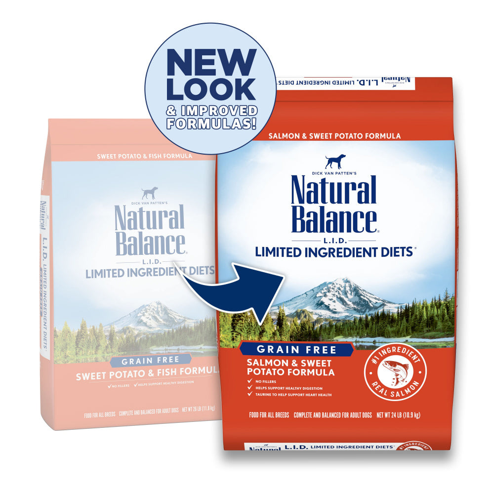 Natural Balance L.I.D. Limited Ingredient Diets Sweet Potato & Fish Adult Dry Dog Food