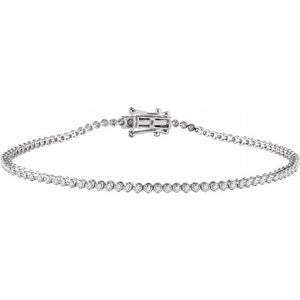 9/10 ct diamond tennis bracelet
