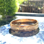 Load image into Gallery viewer, Hand engraved bangle