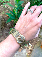 Load image into Gallery viewer, Gold filled buckle bangle