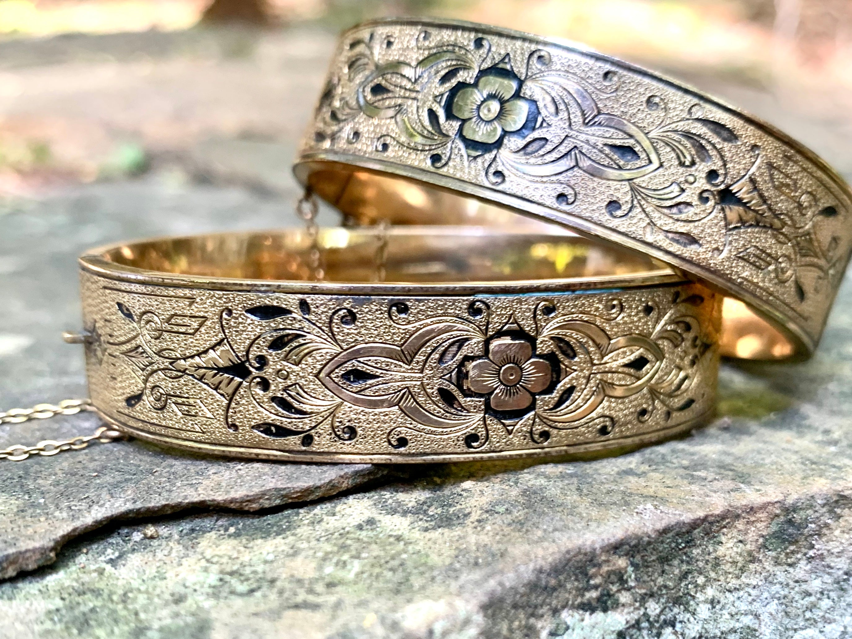 Set of antique wedding bangles