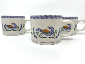 Blue Pheasant coffee mugs