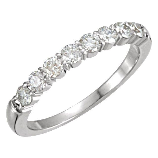 1/2 ctw diamond band