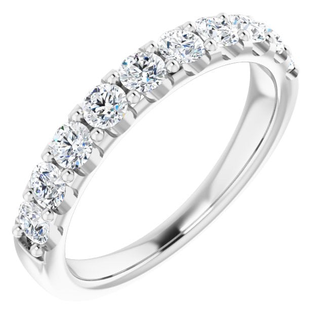 3/4 ctw diamond band
